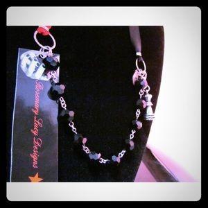 ribbon necklace or bracelet wrap